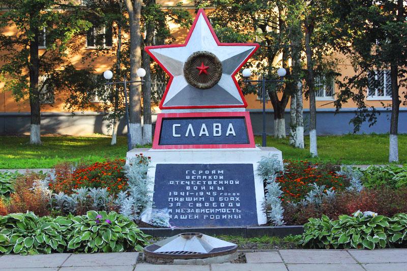 Памятник воинам Волховской земли
